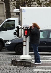 Photographing the Ace de Triomphe